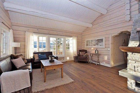 Kvitfjell Vest- Helt ny og lekker laftet hytte - Ski in & out