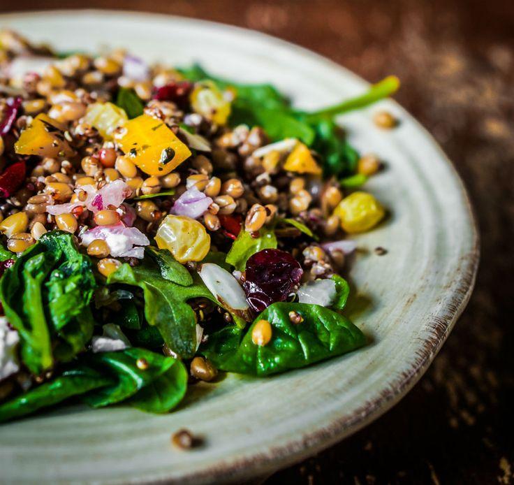Lauwarmer Quinoa-Salat #nu3 #quinoa
