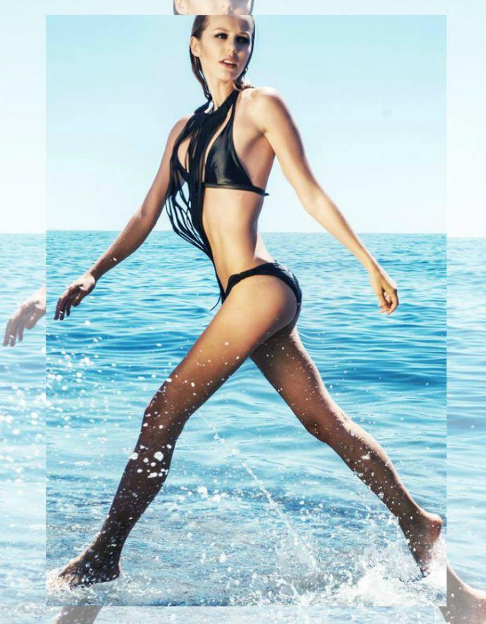World needs Blondes: MODEL'S DIARY VIII.  #model #sea #beach #swimwear #body #blonde