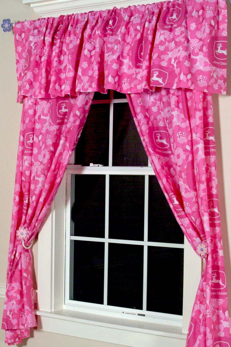 Superb John Deere Pink Camo Drapes
