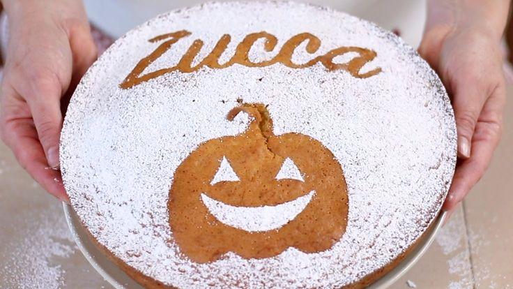 TORTA SOFFICE ALLA ZUCCA Ricetta Facile - Pumpkin Cake Easy Recipe