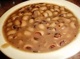 Traditional New Years food in the South - I thought I would post my mother's and grandmother's recipe for this dish.It's simple and plain. My mother liked to cook black eyed peas because they do not have to be soaked first.Bacon or ham can be substituted for the hog jowl if you can't find it. But try the hog jowl if you can - it's very similar to bacon.