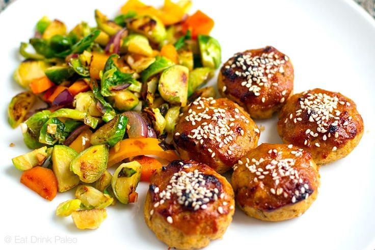 This baked miso salmon balls are a tasty way to use up canned salmon. Paleo friendly salmon patties without breadcrumbs go well with sweet miso glaze sauce.