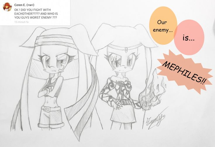 @Shadow265  ;3 last part •3• | Yeah, guys! They hate Mephiles! :v/