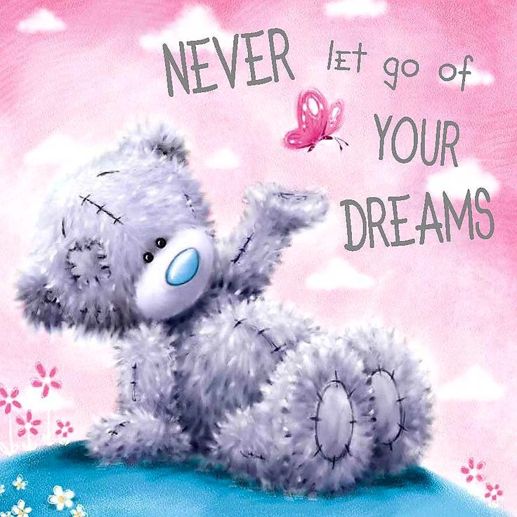 ●•‿✿⁀Taɬɬy Teddy‿✿⁀•● Never let go of your DREAMS