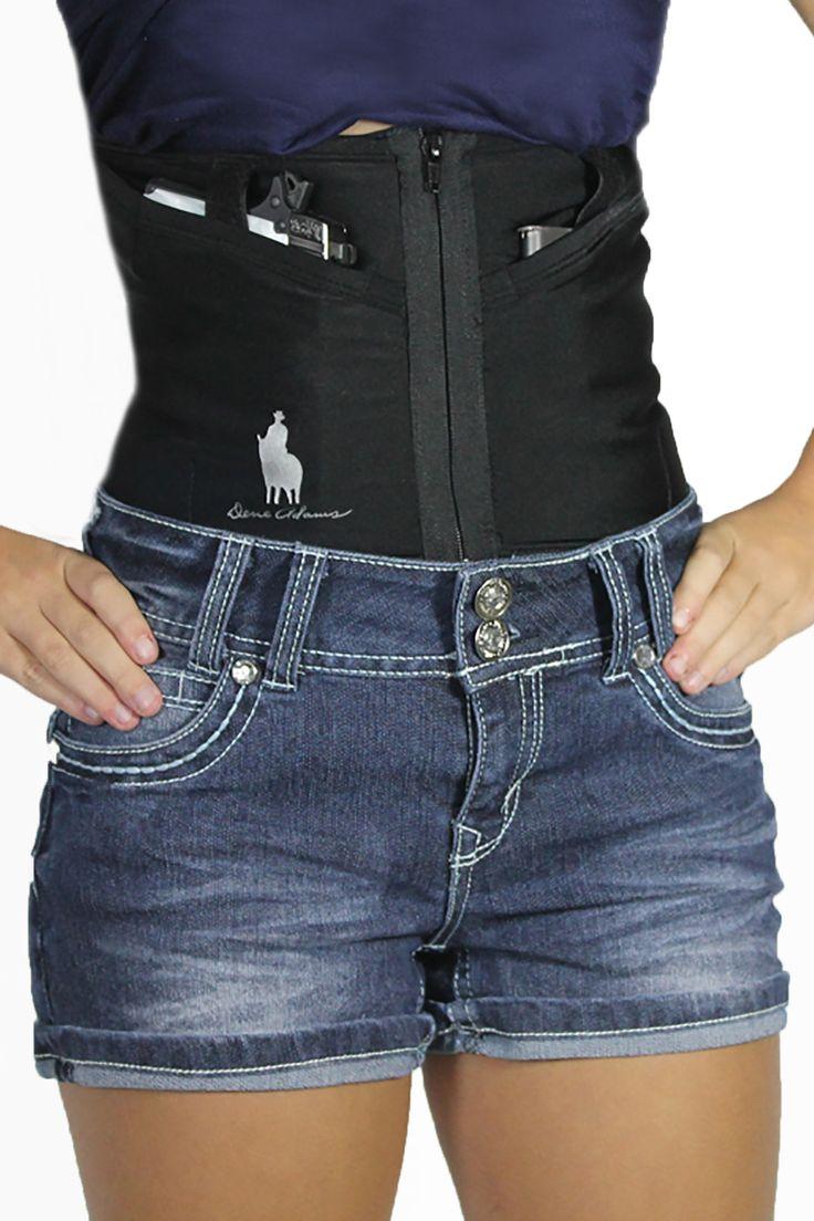 Dene Adams conceal carry corset holsters
