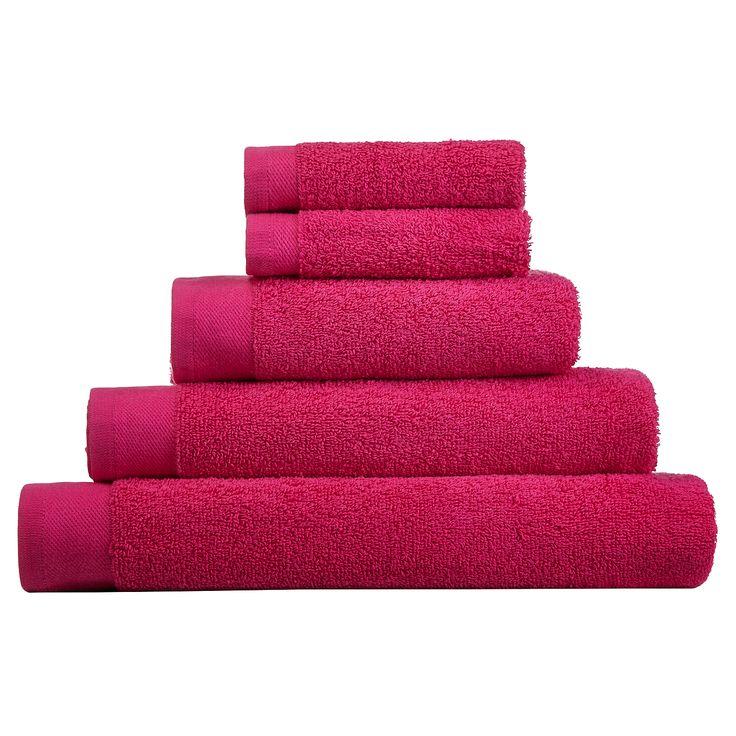 George Home Towel and Bath Mat Range - Fuchsia | Towels & Bath Mats | ASDA direct