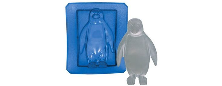 Penguin Ice Box Buddy - Silicone Ice Mold