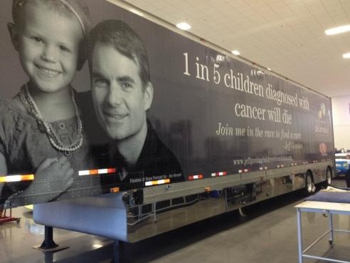 Thank you, Jeff Gordon, for supporting our kids....