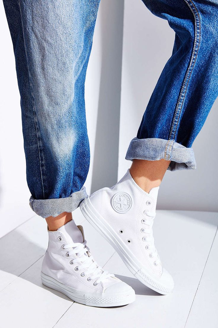 Converse Chuck Taylor All Star Leather High-Top Womens Sneaker - Urban Outfitters
