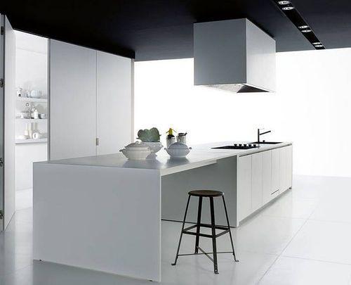 Contemporary Corian® kitchen by Piero Lissoni CASE SYSTEM 5.0 Boffi