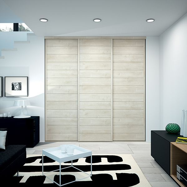 Kazed Portes De Placard Coulissantes Kabourg Naturel Wardrobe Design Bedroom Home Decor Basement Decor