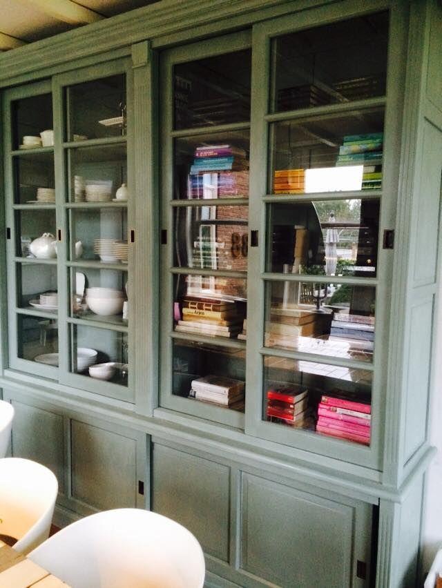 25 beste idee n over groene kasten op pinterest groene keukenkastjes groene keuken en - Verf kleur keuzes voor zitplaatsen ...