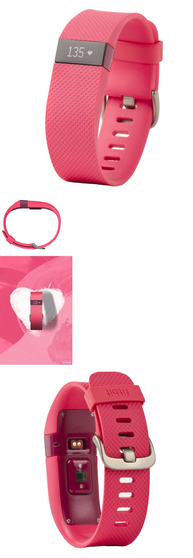 Activity Trackers 179798: New - Fitbit Charge Hr - Wireless Fitness Activity Tracker - Size Small In Pink -> BUY IT NOW ONLY: $56.99 on eBay!