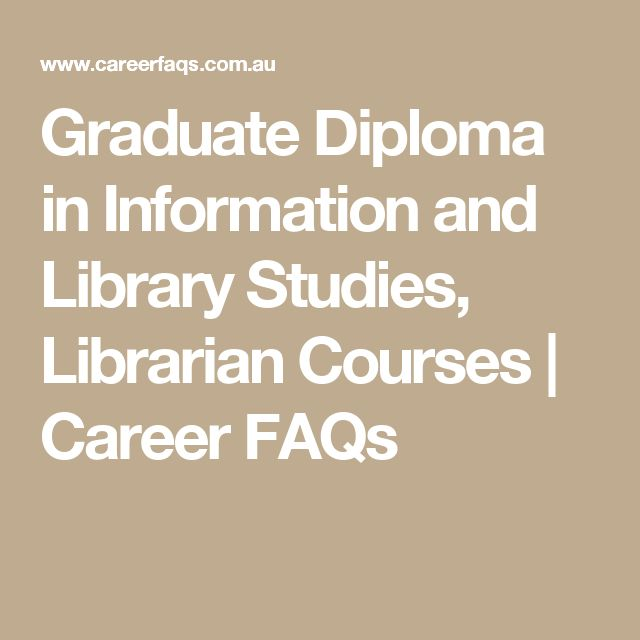 Graduate Diploma in Information and Library Studies, Librarian Courses | Career FAQs