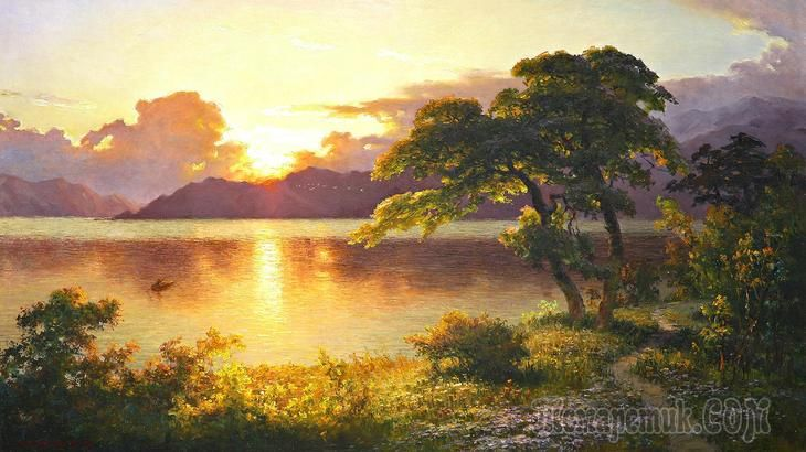 Корейская живопись. Ли Гын Тхэк - Lee Geun Thaek (리근택). КНДР
