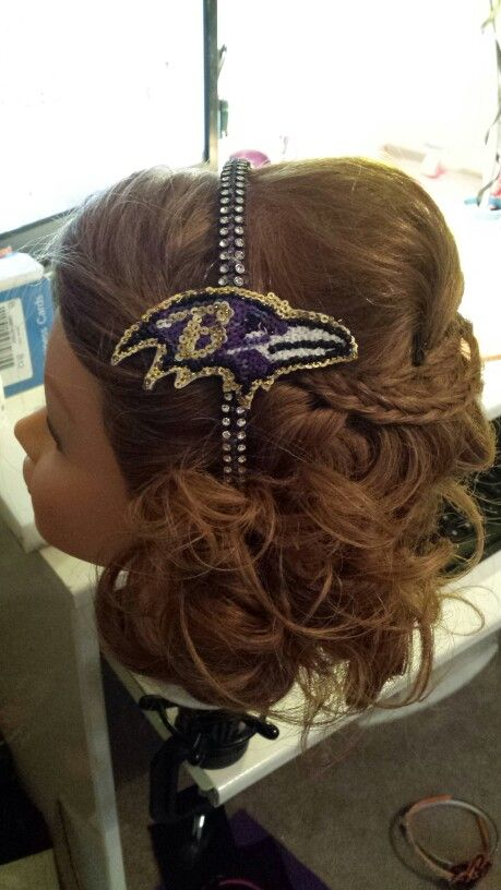 Ravens headband $25 headquase.com