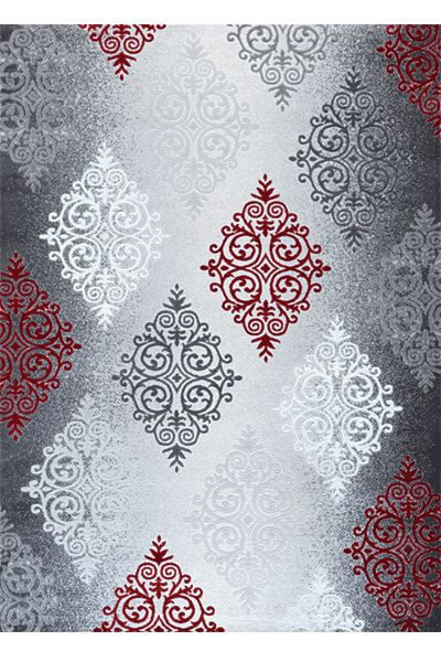 Festival Didim 9270A kırmızı  festival halı yatak odası halıları