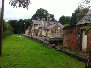 Nailsworth Railway Station, Gloucestershire #psychogeography