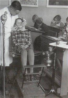 School tandarts, wie was er niet bang voor ?
