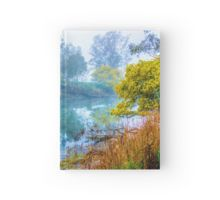 Foggy Start to the Day at Lake Eildon Hardcover Journal