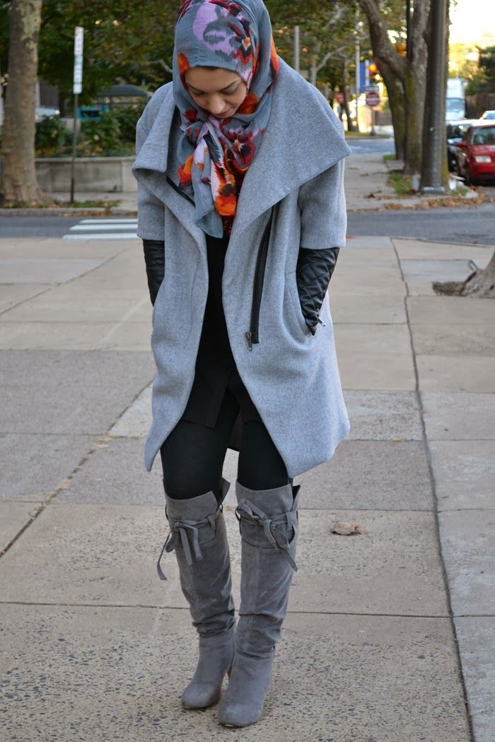 boots and leather sleeved jacket hani hulu