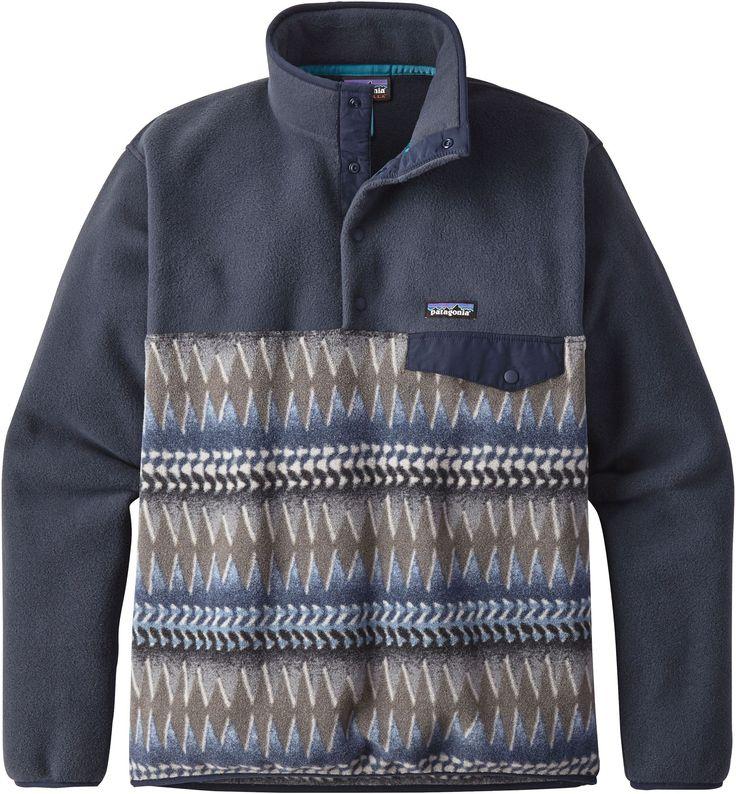 Patagonia Men s Lightweight Synchilla Snap-T Fleece Pullover 4d93d0b0e37