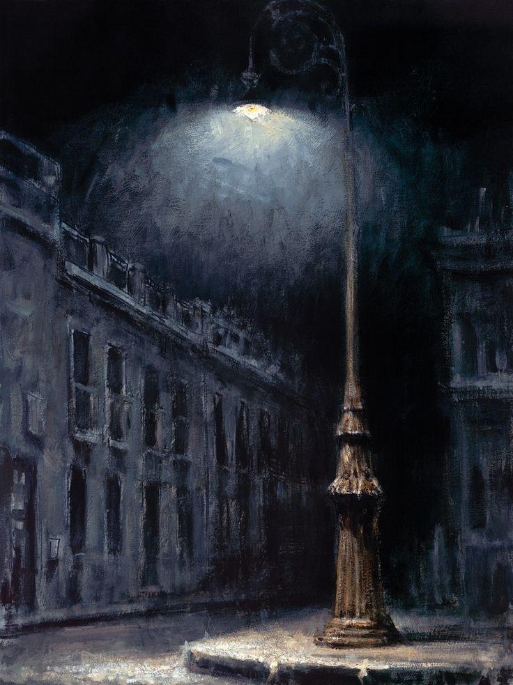 .:. Fabian Perez (Argentinian, b.1967) El Farol, 2005. Giclee on canvas