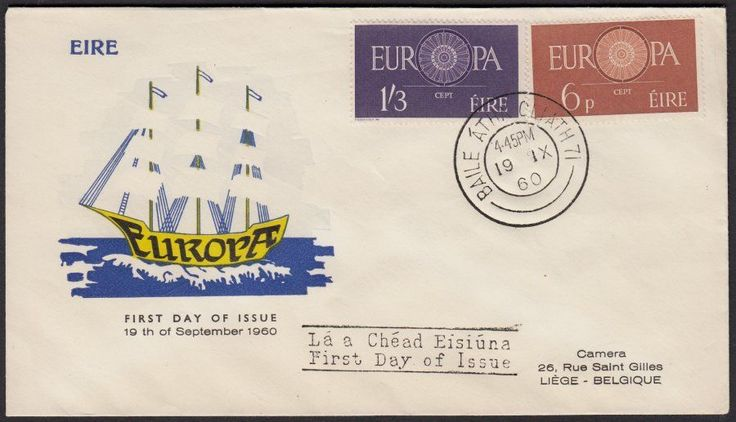 1960 Europa CEPT Illustrated FDC