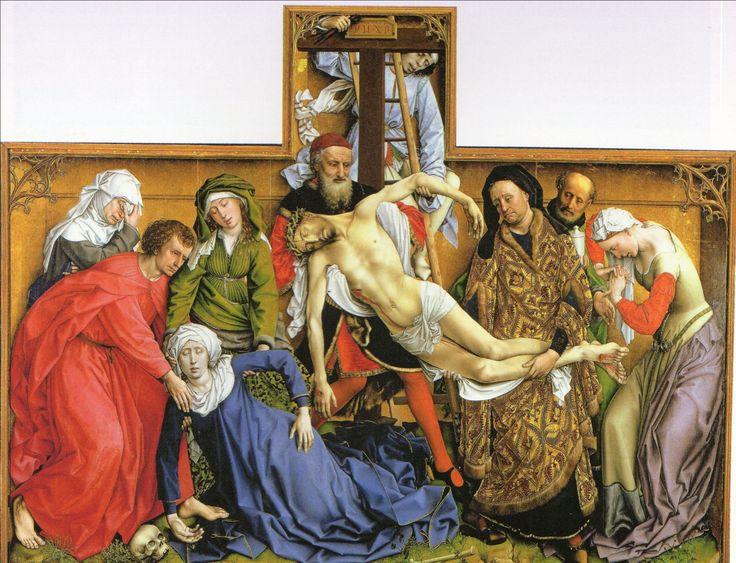ファン・デル・ヴェイン 1430-35 十字架降下 マドリード・プラド美術館