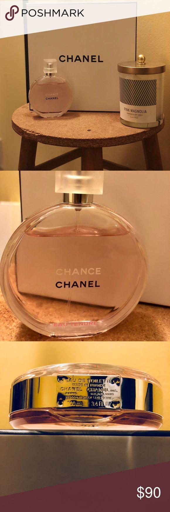 Chanel Chance Eau Tendre - Eau de Toilette, 3.4 oz - Comes w/ Chanel gift set box but no twist & spray - 100% authentic. Purchased at Bloomingdale's in Dec. CHANEL Makeup