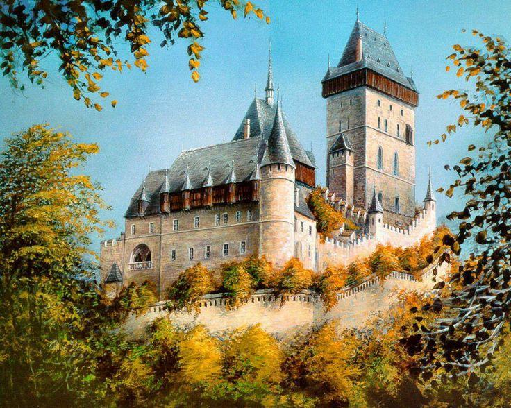 Karlstejn Castle Czech Republic
