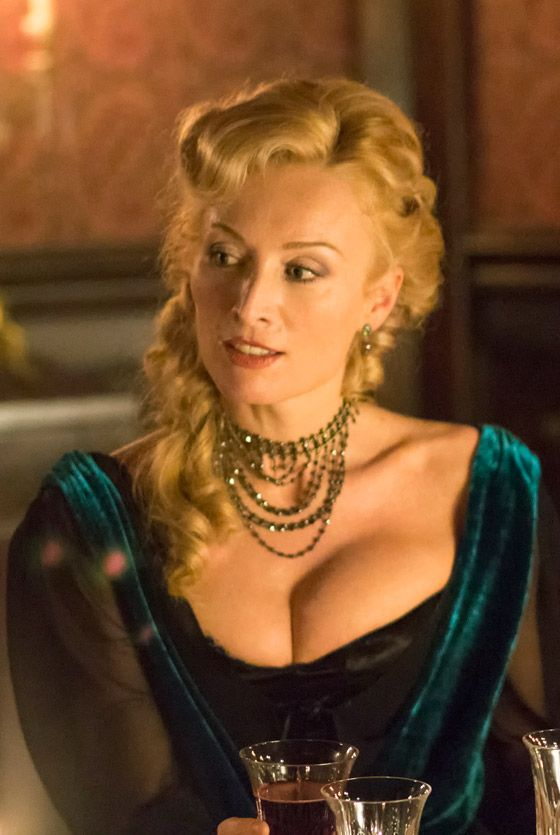 Victoria Smurfit as Lady Jane Wetherby in Episode 2 of Dracula TV Series - sky.com/dracula