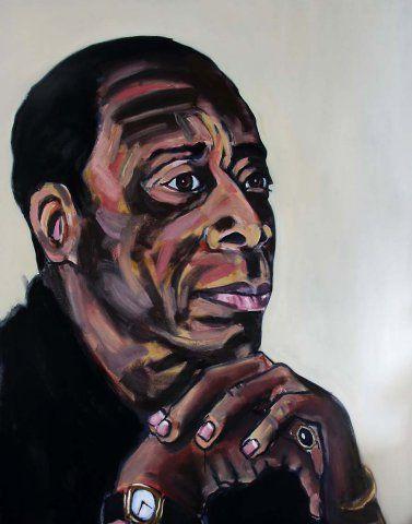 James Baldwin by Leon Vermeulen  For more please visit http://www.finearts.co.za