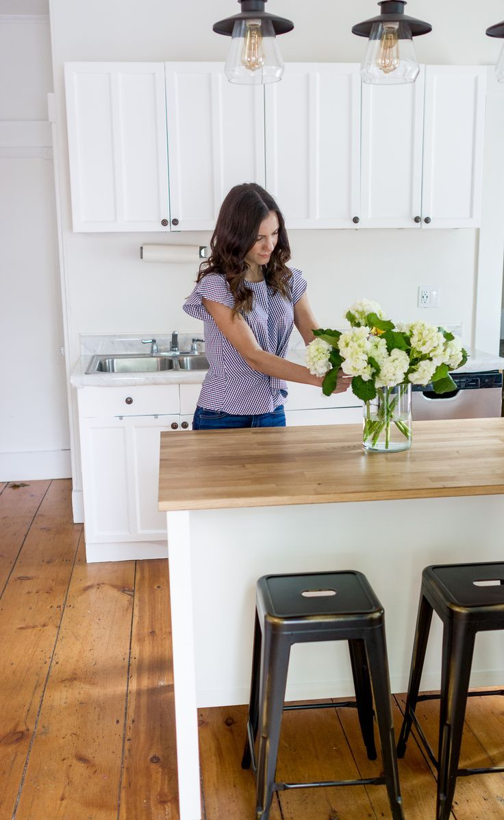 How To Make Over A Kitchen With Contact Paper Covering Cabinets
