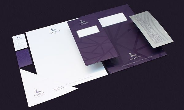 Lush - Rebranding for a Brazilian Luxury Motel by Niramekko, via Behance