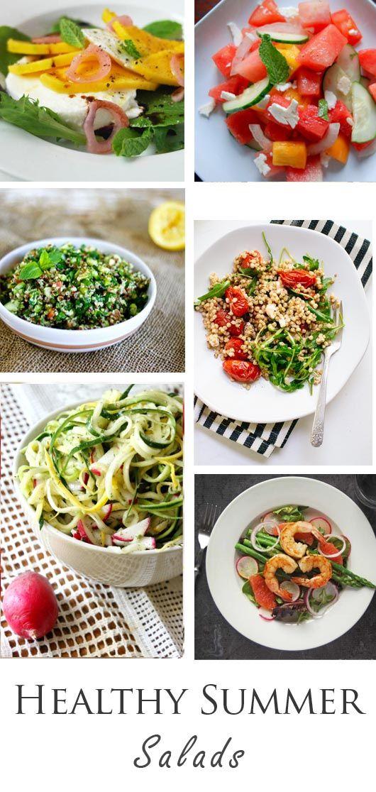 18 Healthy Summer Salad Recipes