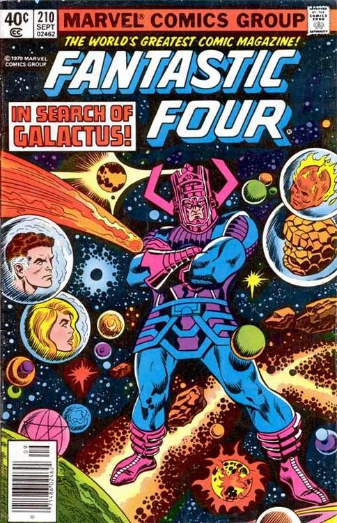Fantastic Four #210 Marvel Comics  Auction your comics on http://www.comicbazaar.co.uk