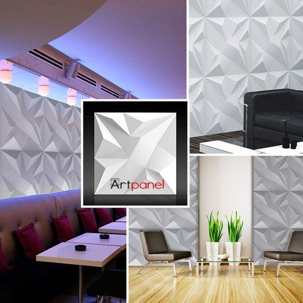 ArtPanel DENALI - Panel gipsowy 3D  >> http://lemonroom.pl/panele-3d-artpanel/481-artpanel-solano-panel-gipsowy-3d-.html