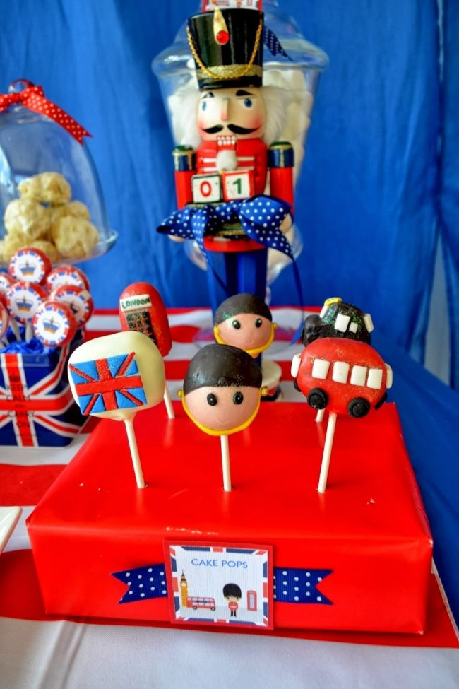 Childrens Birthday Decorations Ideas Cute And Fun Kids Party Decoration London Boys Royal Bash Cake Pops Spaceshipsandlaserbeams