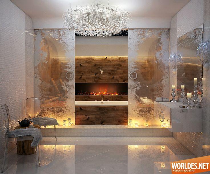 Роскошные ванные комнаты фото 2