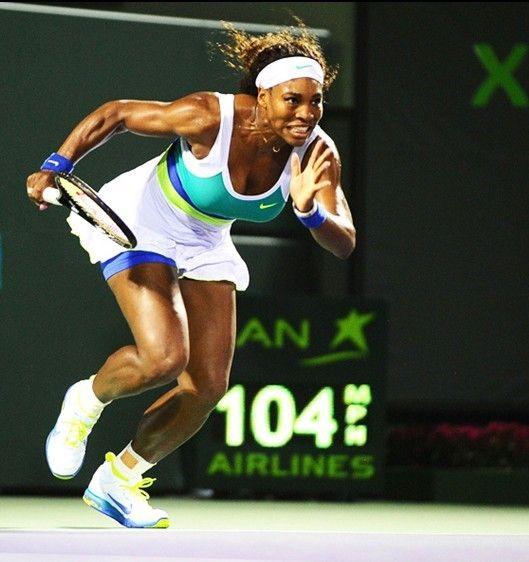 Serena Williams came