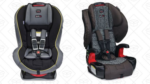 Buckle Up for Britax Car Seat Gold Box