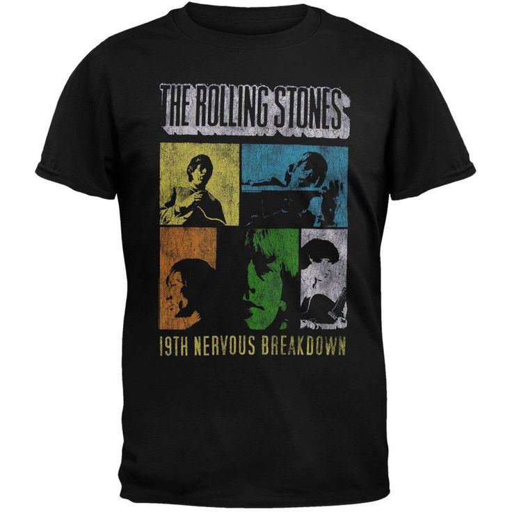 Rolling Stones - 19th Nervous Breakdown T-Shirt