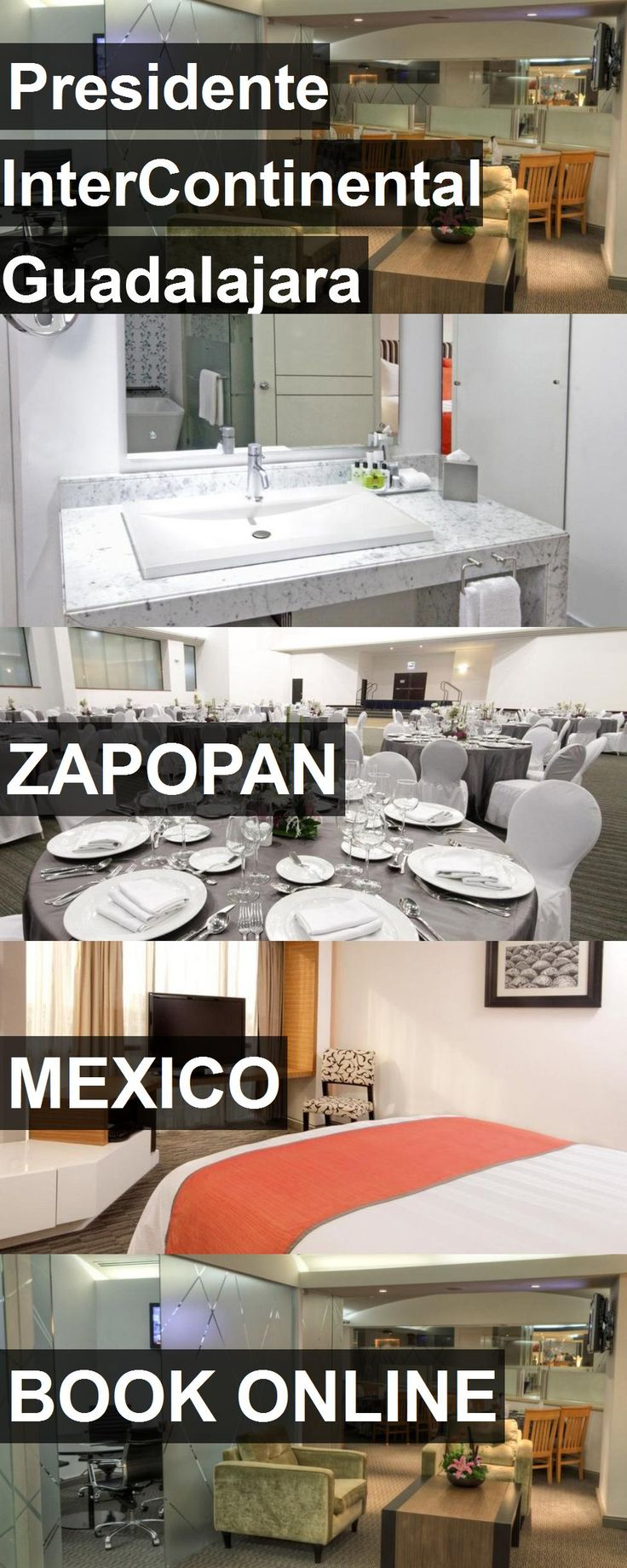 Hotel Presidente InterContinental Guadalajara in Zapopan, Mexico. For more information, photos, reviews and best prices please follow the link. #Mexico #Zapopan #travel #vacation #hotel