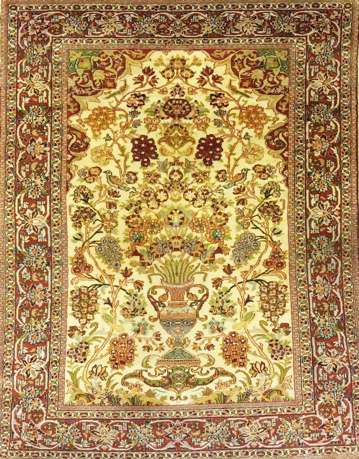 tappeto agra fine indiano