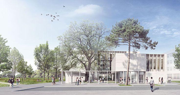 Marjan Hessamfar & Joe Vérons architectes associés   Marjan Hessamfar et Joe Vérons sont diplômés de l'école d'architecture de Bordeaux et travaillent ensemble depuis 1998. Cette collaboration prend la forme d'une sarl d'architecture en 2004 sous le nom de Marjan Hessamfar & Joe Vérons architectes associés.