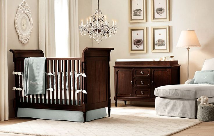 Love this nursery furniture from Restoration Hardware! Now where to find something similar cheaper?!