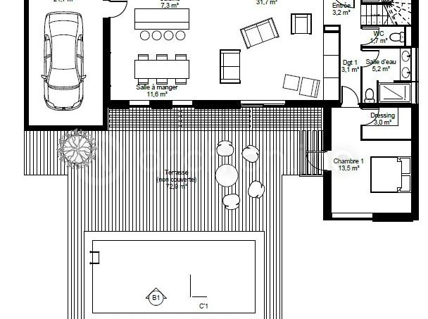 319 best Maison à étage images on Pinterest Floor plans, Homes and