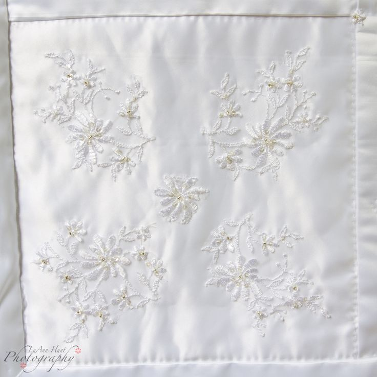 Quilts From Old Wedding Dresses Photos